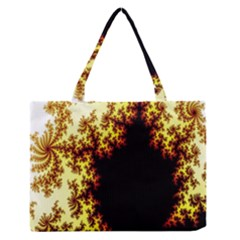 A Fractal Image Medium Zipper Tote Bag by Nexatart