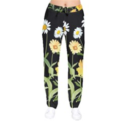 Flowers Of The Field Drawstring Pants by Nexatart