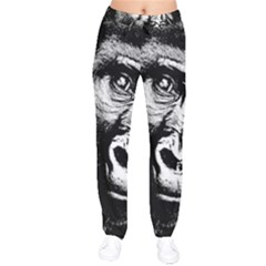 Gorilla Drawstring Pants by Valentinaart