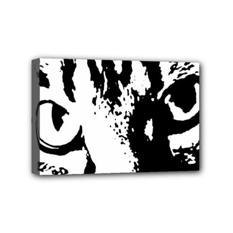 Lion  Mini Canvas 6  X 4  by Valentinaart