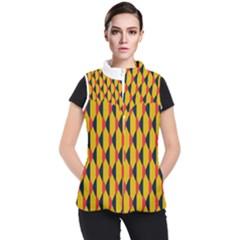 Triangles Pattern Women s Puffer Vest