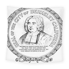 Seal Of Berkeley, California Square Tapestry (large) by abbeyz71