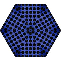CIR1 BK-MRBL BL-BRSH (R) Mini Folding Umbrellas