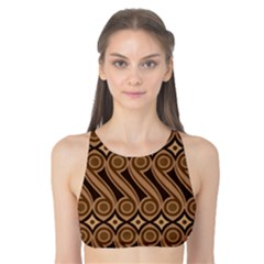 Batik The Traditional Fabric Tank Bikini Top
