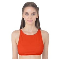 Trendy Basics   Trend Color Flame Tank Bikini Top by tarastyle