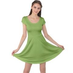 Trendy Basics   Trend Color Greenery Cap Sleeve Dresses by tarastyle