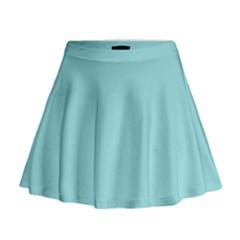 Trendy Basics   Trend Color Island Paradise Mini Flare Skirt by tarastyle