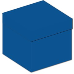 Trendy Basics   Trend Color Lapis Blue Storage Stool 12   by tarastyle