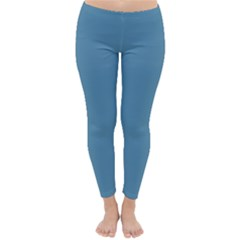 Trendy Basics   Trend Color Niagara Classic Winter Leggings by tarastyle