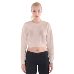 Trendy Basics   Trend Color Pale Dogwood Cropped Sweatshirt by tarastyle