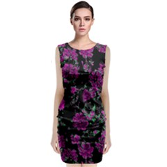 Floral Dreams 12 A Classic Sleeveless Midi Dress by MoreColorsinLife