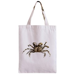 Dark Crab Photo Zipper Classic Tote Bag by dflcprints