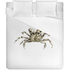 Dark Crab Photo Duvet Cover (california King Size) by dflcprints