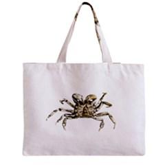 Dark Crab Photo Medium Tote Bag by dflcprints