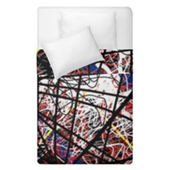Art Duvet Cover Double Side (single Size) by Valentinaart