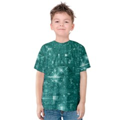 /r/place Emerald Kids  Cotton Tee by rplace
