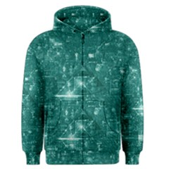 /r/place Emerald Men s Zipper Hoodie by rplace