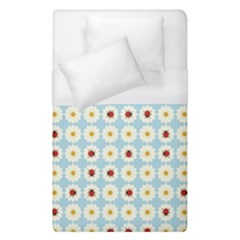 Ladybugs Pattern Duvet Cover (single Size) by linceazul