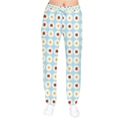 Ladybugs Pattern Drawstring Pants by linceazul