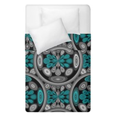 Geometric Arabesque Duvet Cover Double Side (single Size) by linceazul