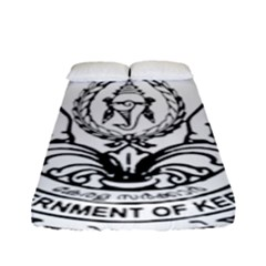 Seal Of Indian State Of Kerala Fitted Sheet (full/ Double Size) by abbeyz71