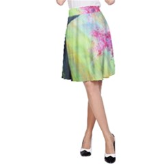 Forests Stunning Glimmer Paintings Sunlight Blooms Plants Love Seasons Traditional Art Flowers A-Line Skirt by Gogogo