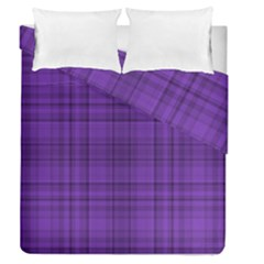 Plaid Design Duvet Cover Double Side (queen Size) by Valentinaart
