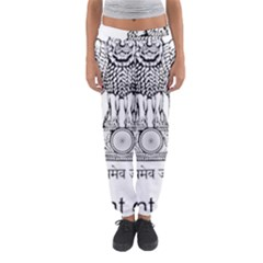 Seal Of Indian State Of Mizoram Women s Jogger Sweatpants by abbeyz71
