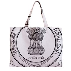 Seal Of Indian State Of Punjab Zipper Mini Tote Bag by abbeyz71