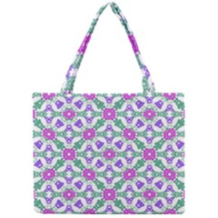 Multicolor Ornate Check Mini Tote Bag by dflcprints