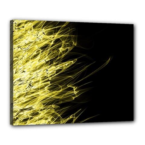 Fire Canvas 20  X 16  by Valentinaart