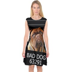 Bed dog Capsleeve Midi Dress