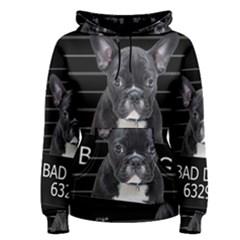 Bad Dog Women s Pullover Hoodie by Valentinaart