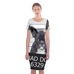 Bad dog Classic Short Sleeve Midi Dress