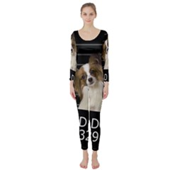 Bad Dog Long Sleeve Catsuit by Valentinaart