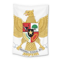 National Emblem Of Indonesia  Small Tapestry by abbeyz71