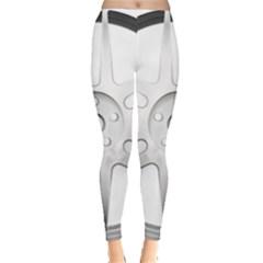 Wheel Skin Cover Leggings  by Vanbedor