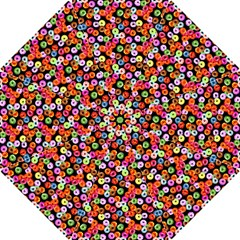 Colorful Yummy Donuts Pattern Hook Handle Umbrellas (large) by EDDArt