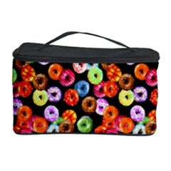 Colorful Yummy Donuts Pattern Cosmetic Storage Case by EDDArt