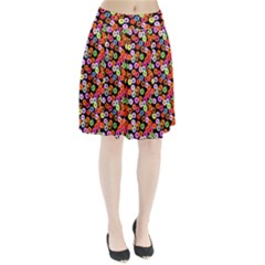 Colorful Yummy Donuts Pattern Pleated Skirt by EDDArt