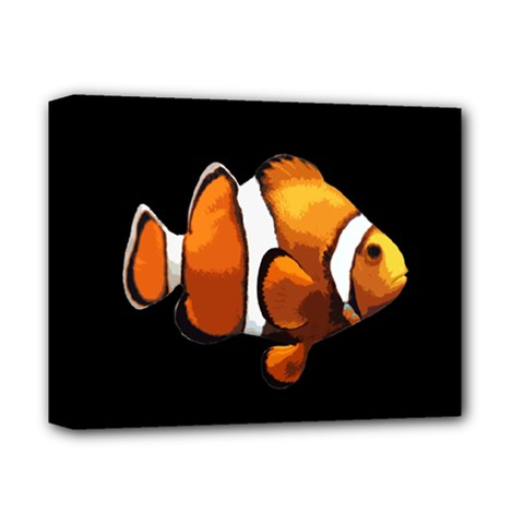 Clown Fish Deluxe Canvas 14  X 11  by Valentinaart
