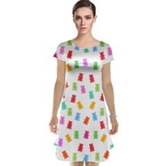 Candy pattern Cap Sleeve Nightdress