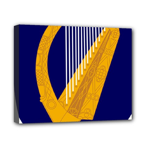 Coat Of Arms Of Ireland Canvas 10  X 8  by abbeyz71