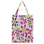 Star Flower Purple Pink Classic Tote Bag