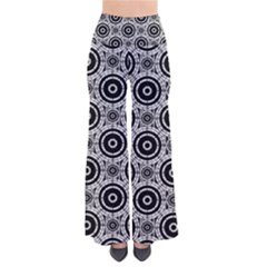 Geometric Black And White Pants by linceazul