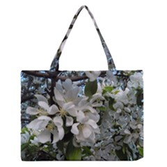Pure And Simple Medium Zipper Tote Bag by dawnsiegler