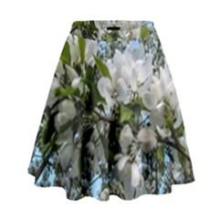 Pure And Simple 2 High Waist Skirt by dawnsiegler