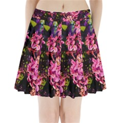 Lilacs Pleated Mini Skirt by dawnsiegler