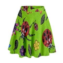 Lucky Ladies High Waist Skirt by dawnsiegler