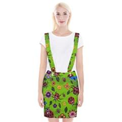 Lucky Ladies Braces Suspender Skirt by dawnsiegler